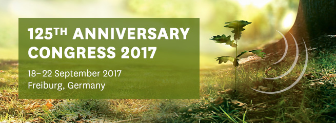 IUFRO 125th Anniversary Congress 2017